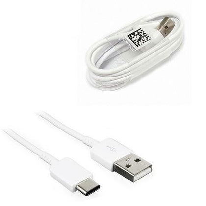 Genuine Samsung A3 (2017) A5 (2017) A7 (2017) S8 / S8 Plus USB Type C Sync & Charge Cable White