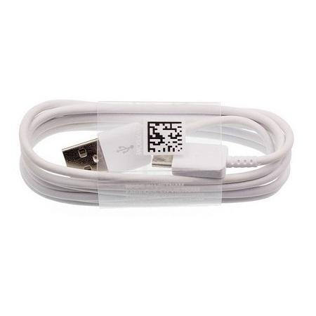 Official Samsung Galaxy A21 USB Type C Fast Charge Charger Cable White
