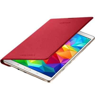 Samsung Galaxy Tab S 8.4 Simple Cover Case - Glam Red - Uk Mobile Store