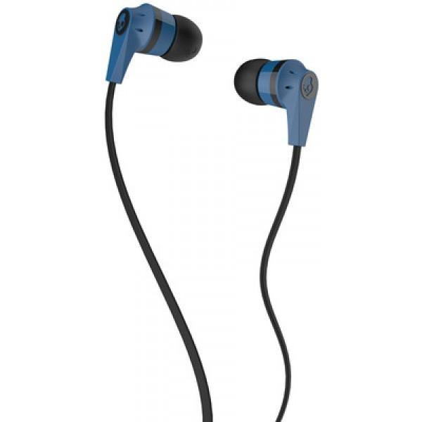 Skullcandy Ink'd 2 In Ear Headphones Blue/Black with Mic - Uk Mobile Store