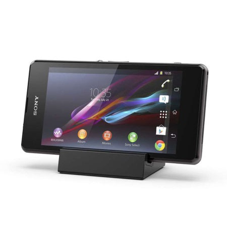 Sony Xperia Z1 Compact DK32 Magnetic Charging Dock - Black