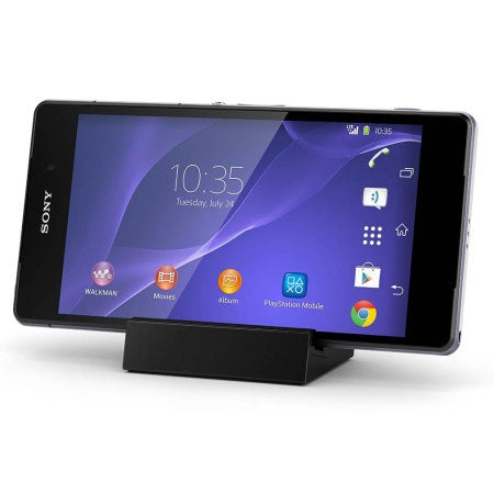 Sony Xperia Z2 DK36 Magnetic Charging Dock - Black