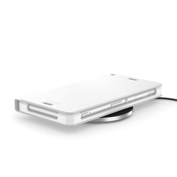 Sony Xperia Z3 Wireless Charging Cover White - WCR14