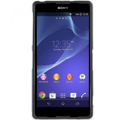 Sony Xperia Z2 Gel Shell Case - Nero Black