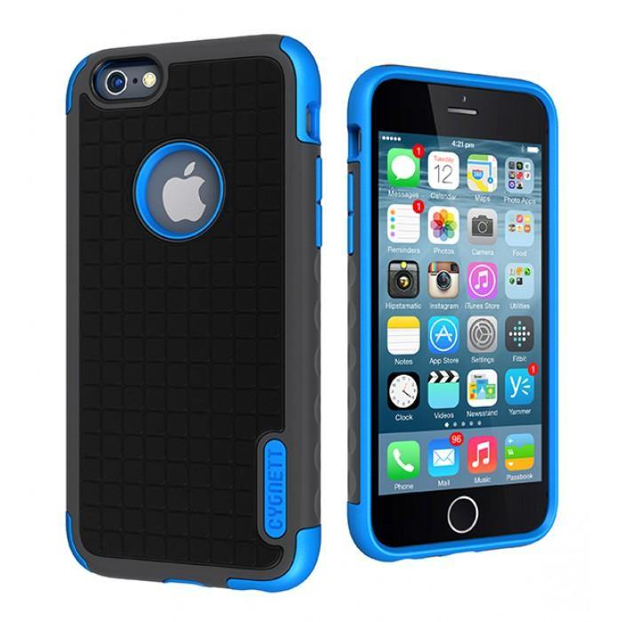 Cygnett iPhone 6 Workmate Case Black/Blue - CY1667CPWOR