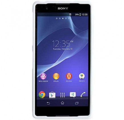 Sony Xperia Z2 Gel Shell Case - Polar White