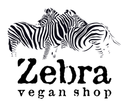 logo zebra vegan shop