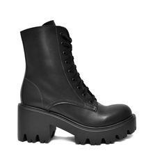 Load image into Gallery viewer, bottines punk rock vegan