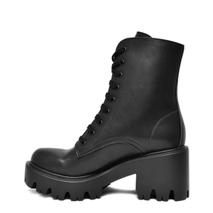 bottines sans cuir