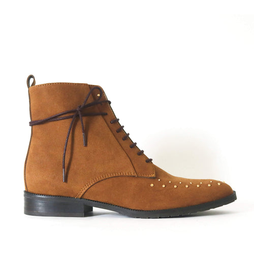 bottines daim vegan