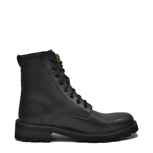 bottines cuir vegan homme