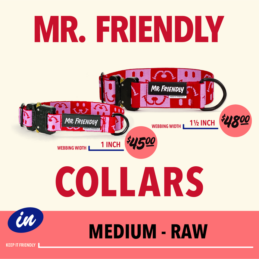 MEDIUM-RAW COLLAR