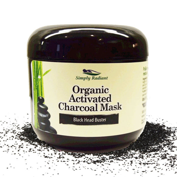 Organic Activated Charcoal Face Mask 2 oz.