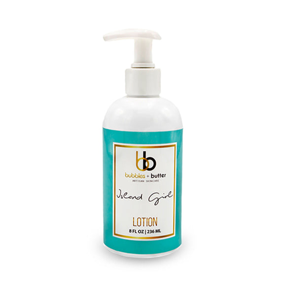 Bubbles and Butter - Island Girl Body Lotion
