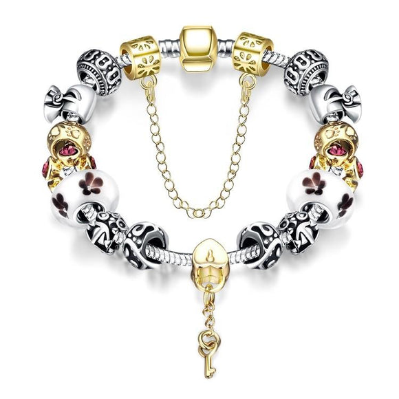 Lock & Capture My Heart Pandora Inspired Bracelet