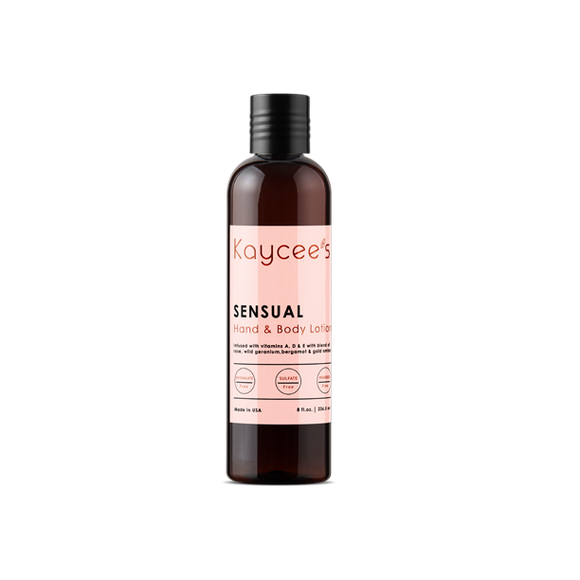 Kaycee's Hand & Body Lotion - Sensual