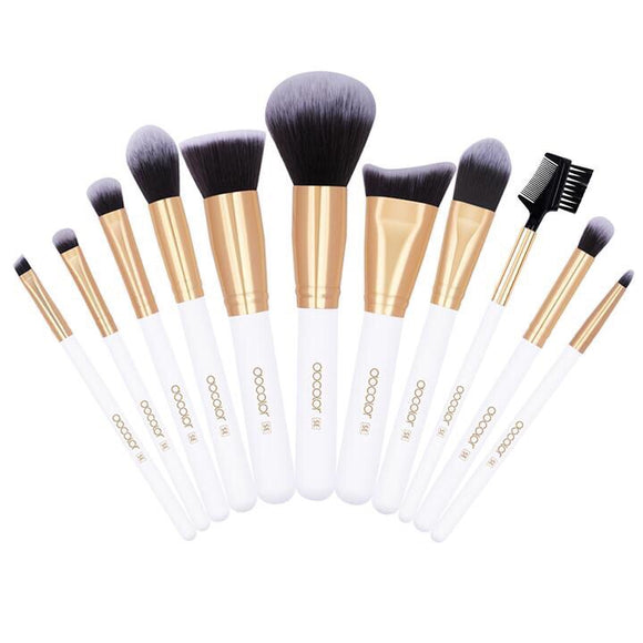 Docolor 11 Pcs Makeup Brushes Set, Cosmetic Brushes