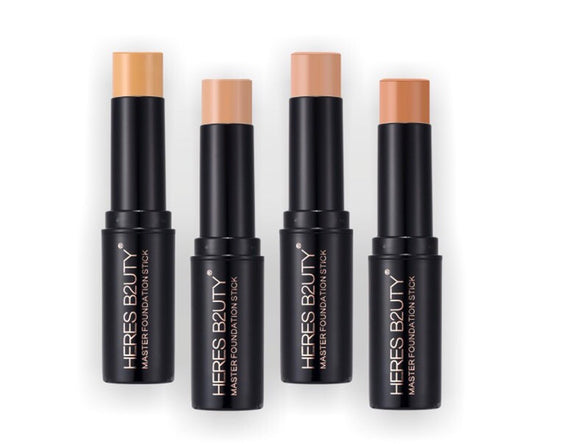 8 Colors Full Coverage Makeup Foundation Stick