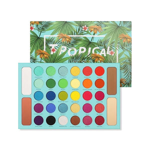 Docolor Tropical 34 Color Eyeshadow Palette
