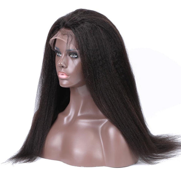 Brazilian Remy Lace Front Human Hair Wig With Baby Hair 13