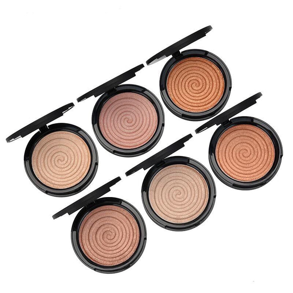 6 Mineral Face Highlight Makeup Bronze Trimming Highlighter Powder