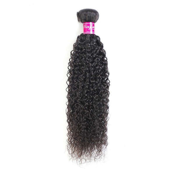 Kinky Curly Bundles Non-Remy Human Hair Bundles Natural Color