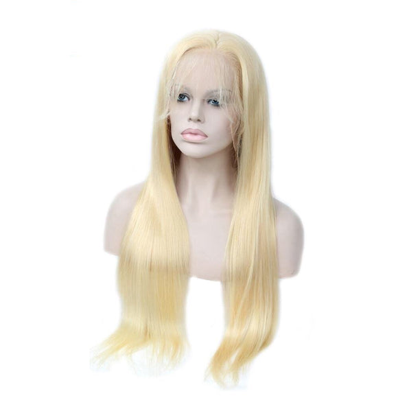 360 Lace Frontal Wig Straight Lace Front Human Hair With Baby Hair Brazilian Non Remy