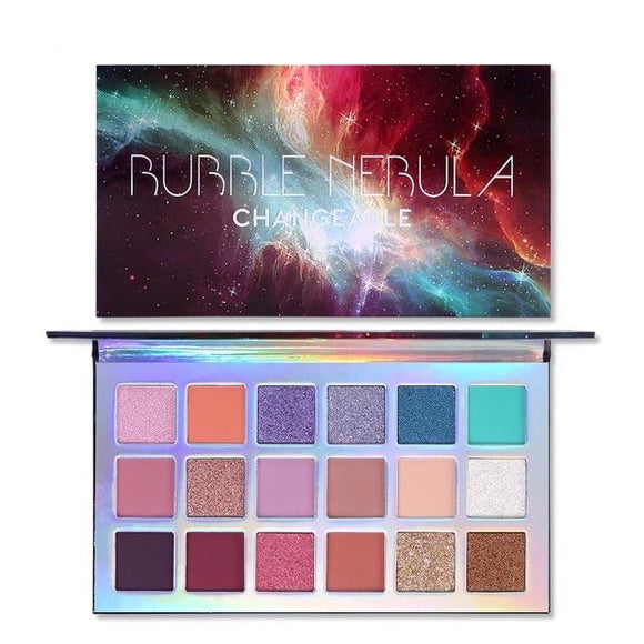 UCANBE Changeable 18 Colors Bubble Nebula Eyeshadow Palette