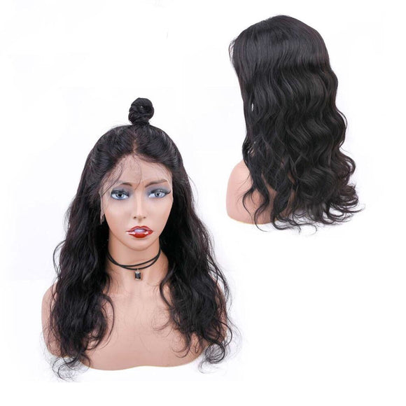 360 Body Wave Human Hair Lace Frontal Pre-Plucked With Baby Hair