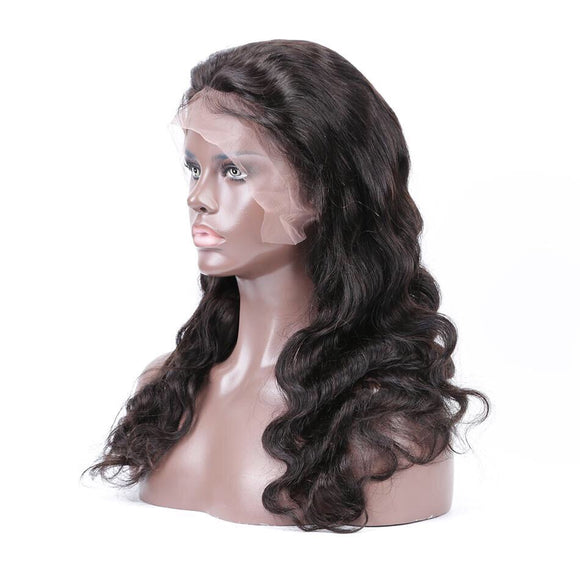Body Wave Pre-Plucked With Baby Hair Brazilian Remy Hair Full Lace 360 Wig