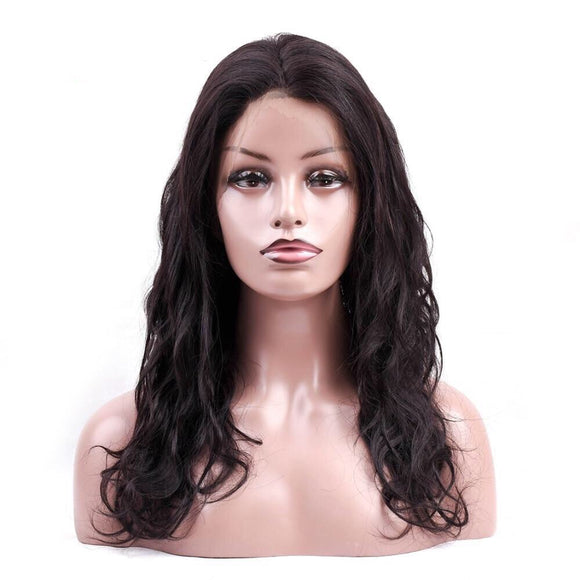 Body Wave 360 Lace Frontal Natural Hairline Remy Full Lace Hair Wig
