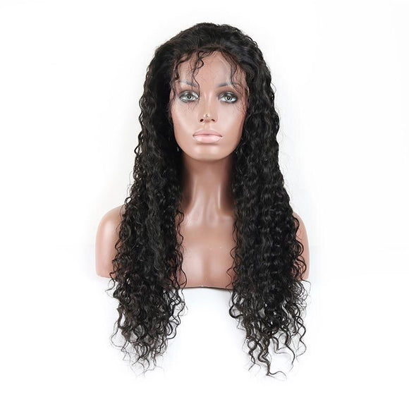 Cury Brazilian 360 Lace Frontal Remy Human Hair Wig Pre plucked with Baby Hair