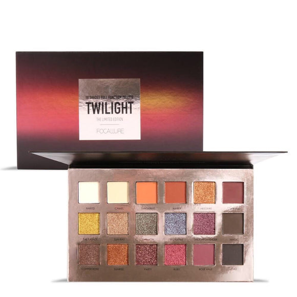 Focallure High Pigment Diamond Shimmer Eyeshadow Palette