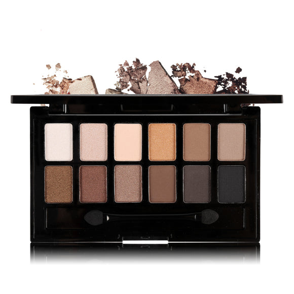 Ucanbe 12 Colors Pro Nude Earth Color Makeup Eyeshadow Palette
