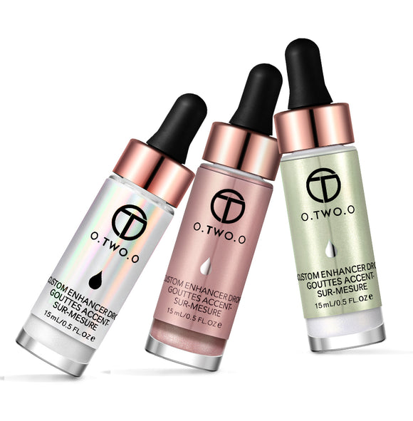 O.TWO.O Liquid Shimmer Highlighter Illuminating & Bronzing Drops