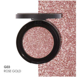 Glamorous Single Color Glitter Eyeshadow Palette