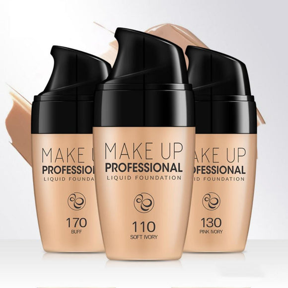 Makeup Base Pro Liquid Foundation - Easy to Wear