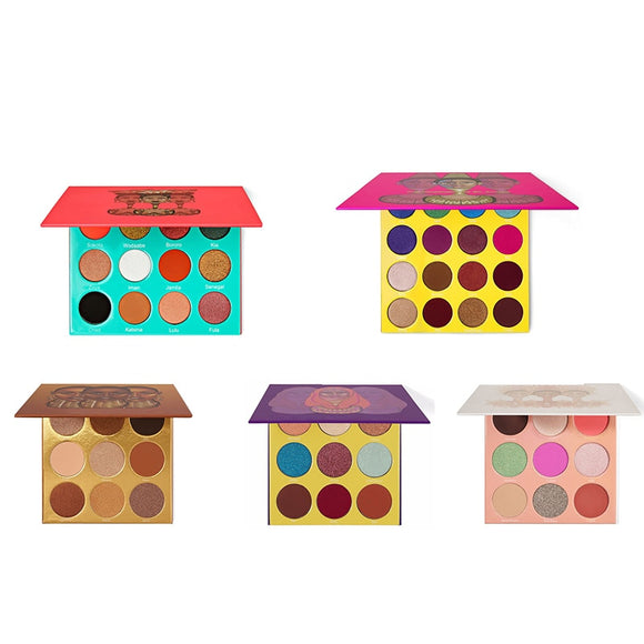 Juvias Place 9/16 Color Eyeshadow Makeup Palettes