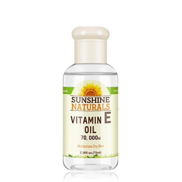 Sunshine Naturals Vitamin E Oil Pure 75ml