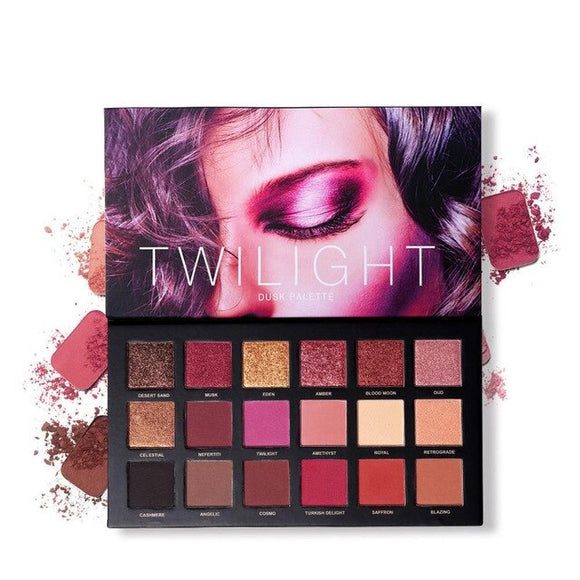 UCANBE 18 Colors Twilight Eyeshadow Makeup Palette