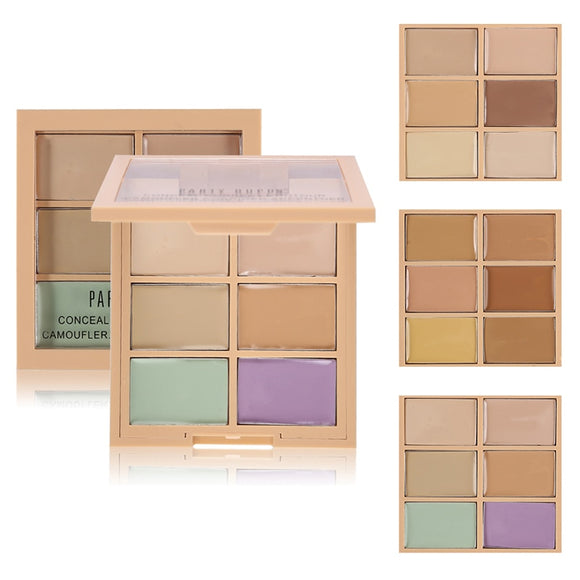 6 Color Makeup Concealer Contour Palette Corrector - Prestige Beauty Shop