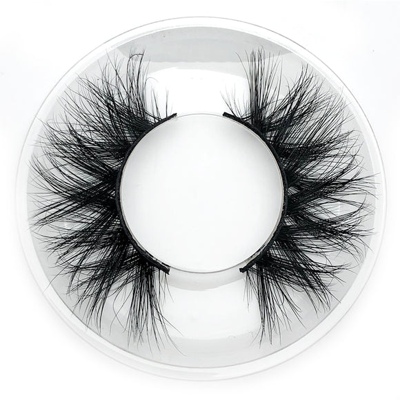 Thick Handmade 3D Full Strip Mink Lashes
