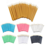 50 Pcs 3-in-1 Disposable Applicator For Lips, Concealer & Eyeshadow