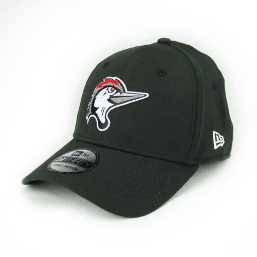 Fayetteville Woodpeckers New Era 39Thirty Home Cap