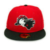 Fayetteville Woodpeckers New Era 59Fifty Alternate Cap