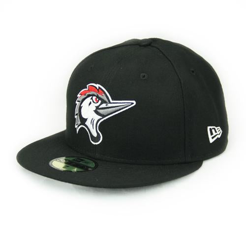 Fayetteville Woodpeckers New Era Youth 59Fifty Home Cap