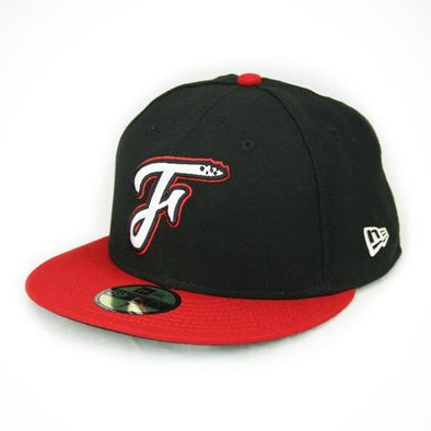 Fayetteville Woodpeckers New Era Youth 59Fifty Road Cap