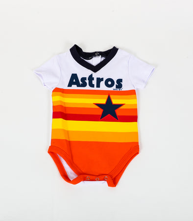 Houston Astros Toddler Outerstuff Rainbow Body Onesie