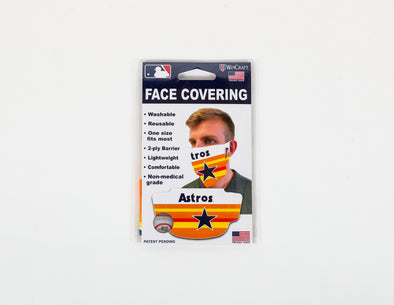 Houston Astros WinCraft Cooperstown Face Covering