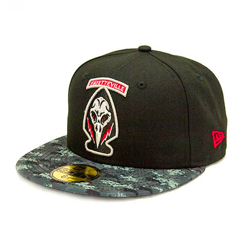 Fayetteville Woodpeckers New Era Black Ops 59Fifty